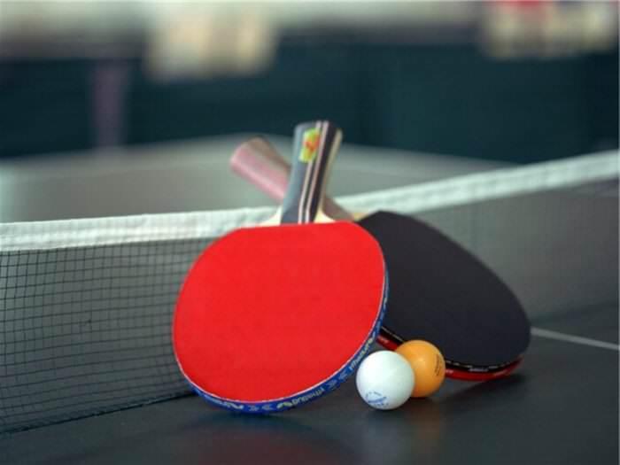 Настольный теннис. Игры 7 — А, 7 — Б, 8 и 9 — А классов.